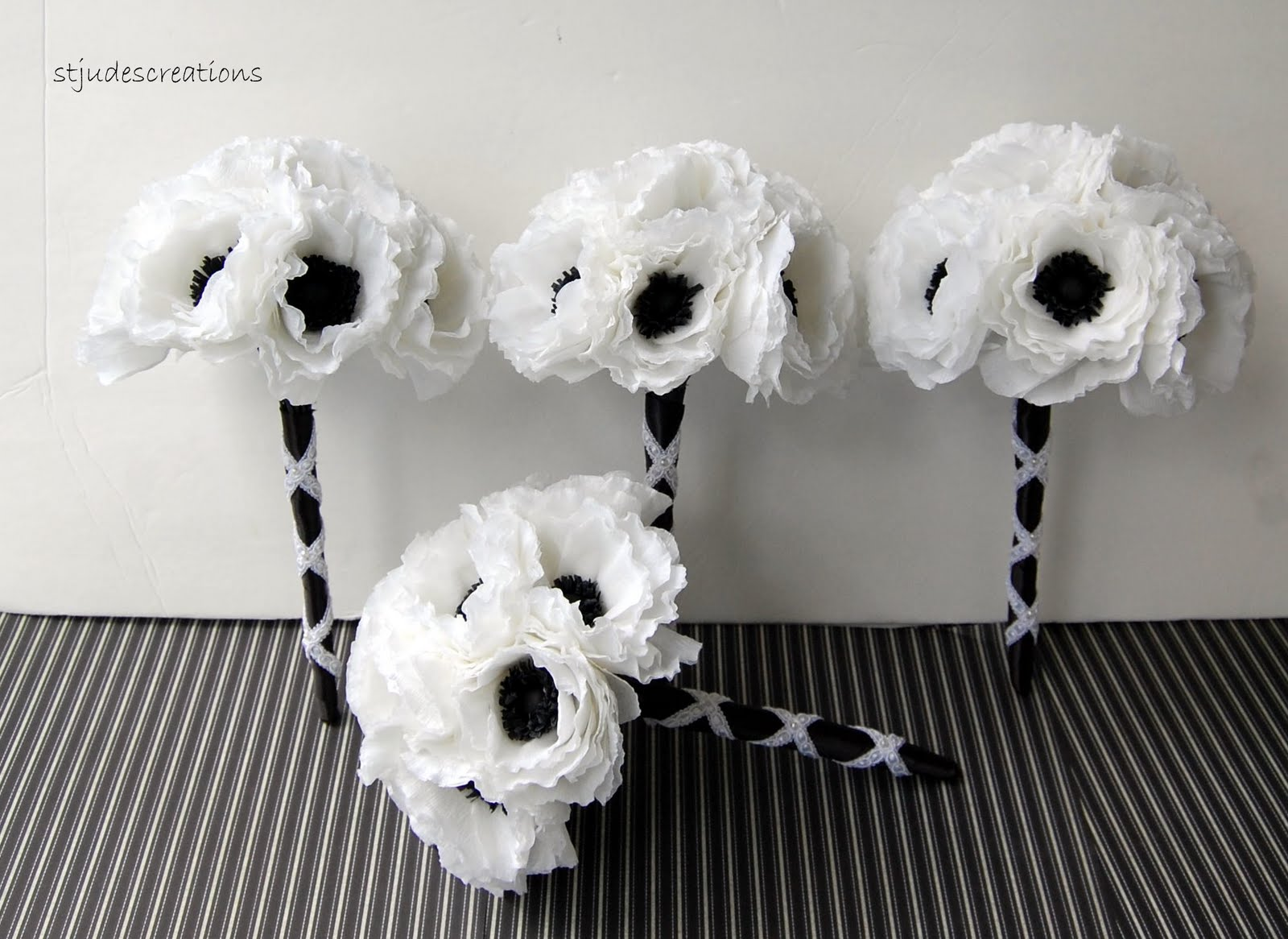 Anemone Order For Sasha Handmade Paper Flowers By Maria Noble