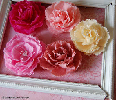 paper flower favors