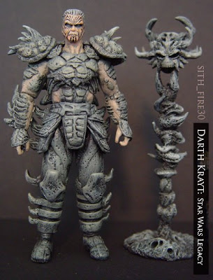 Custom darth krayt sculpted with aves fixit sculpt by sith fire30