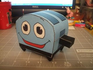 A toaster made of -paper- ?