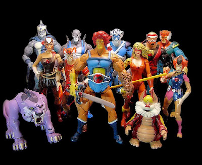 Thunder Cats Figures on Toycutter  Thundercats Action Figures