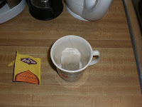 Cold Season Tea Bag In Cup