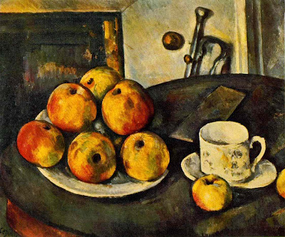 Cézanne: Still Life with Apples (1890-94)