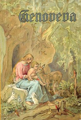 Genevieve of Brabant. Genoveva von Brabant. Genovefa