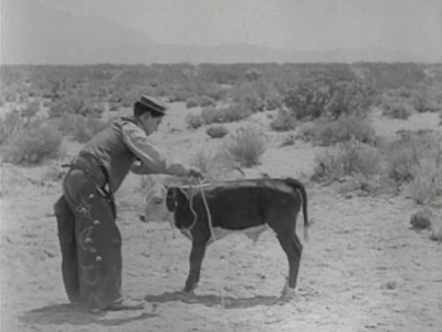Buster Keaton Go West
