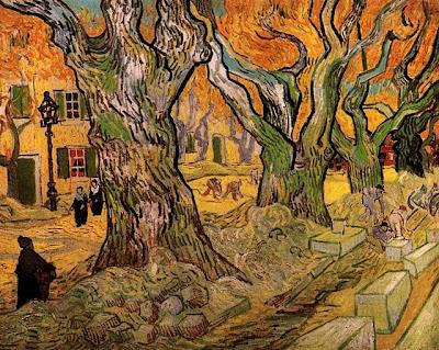 Van Gogh. The Road Menders