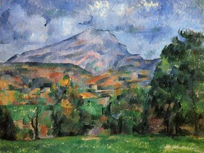 Cézanne. Mont Sainte Victoire. 14