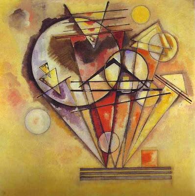 Kandinsky. On Points. 1928