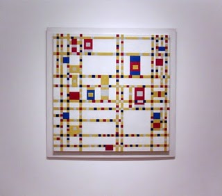 Mondrian. Broadway Boogie Woogie gallery wall