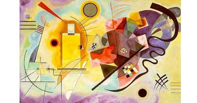 Kandinsky. Yellow Red Blue 1925