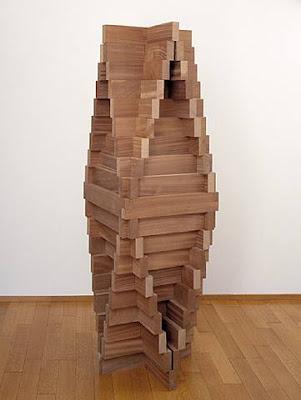 Carl André. Convex Pyramid 1959-2000