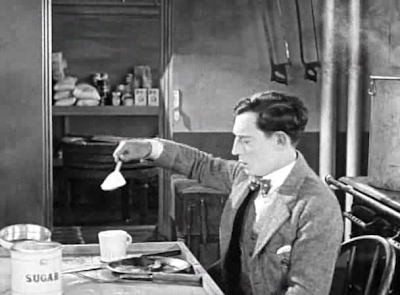 Buster Keaton The Navigator big sugar spoon