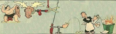 Rube Goldberg machine without text