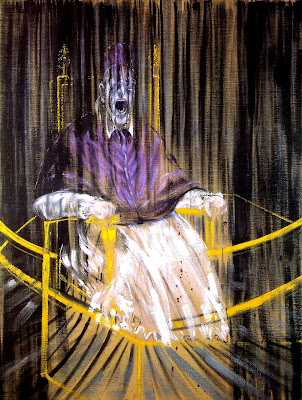 Francis Bacon. Study After Velazquez's Portrait of Pope Innocent X