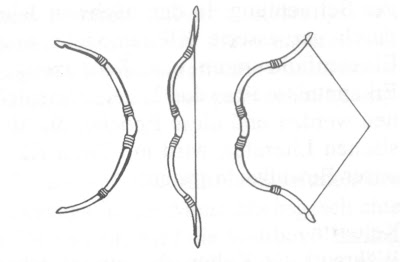 composite bow drawing