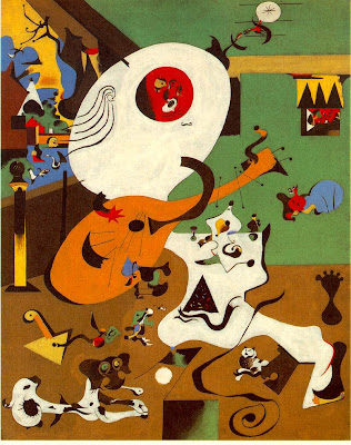 Joan Miro. Dutch Interior