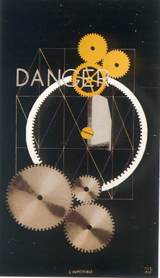 Ray. Man Ray. Dancer / Danger, Impossibility