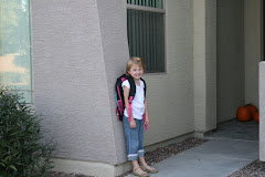 Emma's first day of school