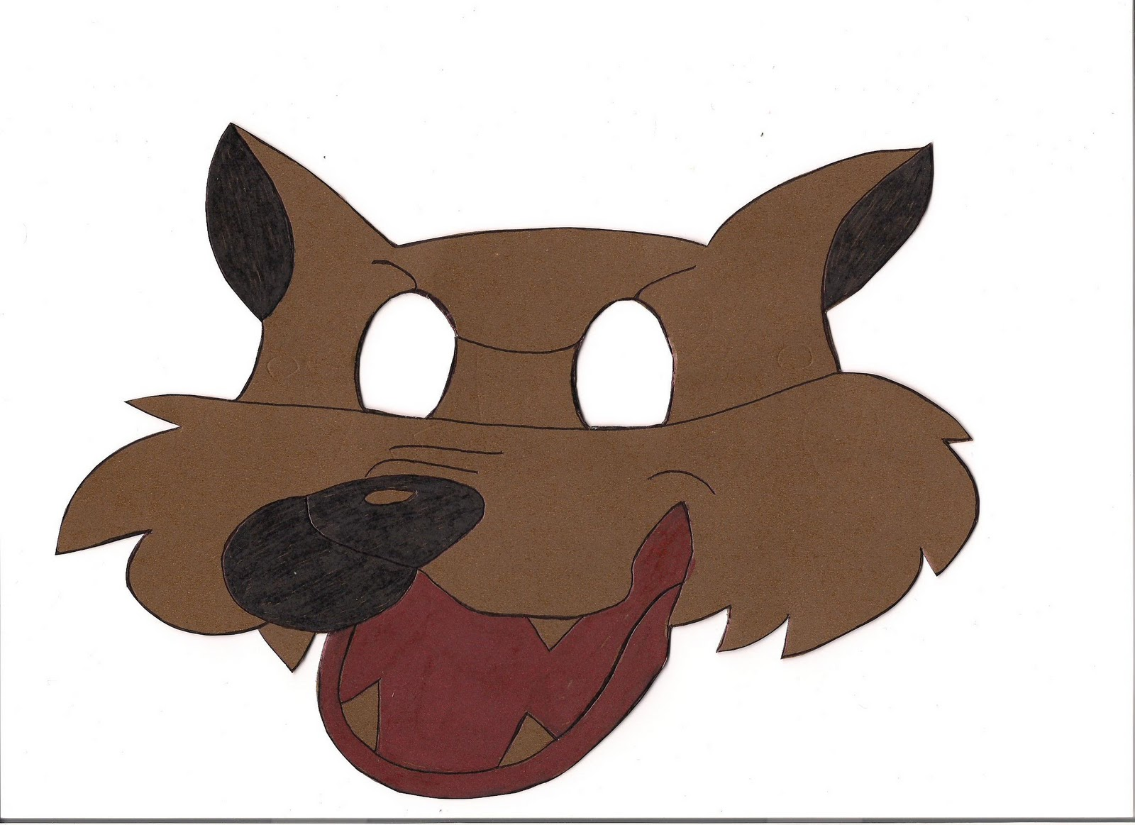 Mascara De Lobo Infantil Pictures