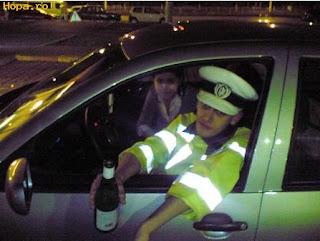 Policía borracho