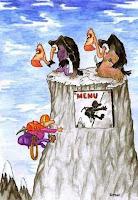 Humor: El alpinista