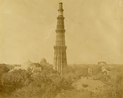 Qutub Minar old picture