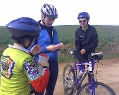Con Luis y su hijo en la ruta familiar