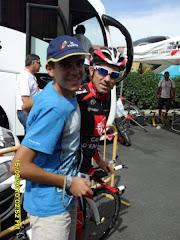 Con David Arroyo