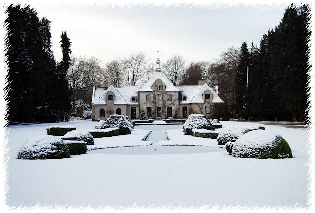 Villa Abelin i snö