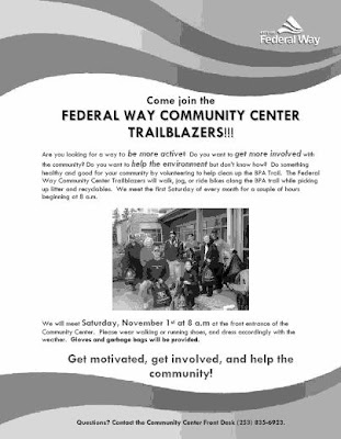 Press Release: Join the Federal Way Trailblazers