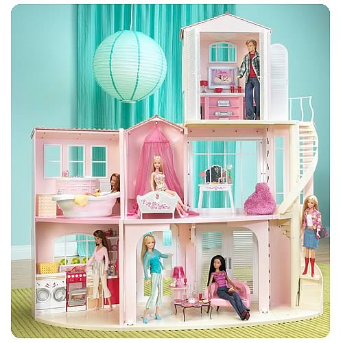 Barbie Dolls Barbie Doll House