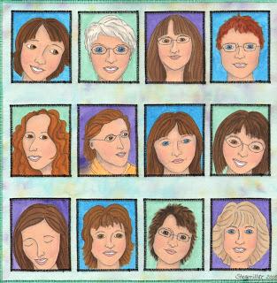 Terri Stegmiller community themed quilt