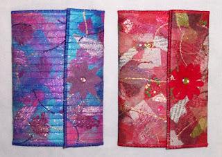 embellished mini padfolios