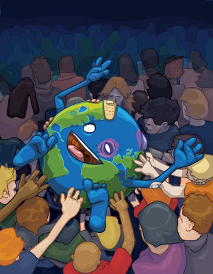 Crowd Surfing Earth di David Lanham