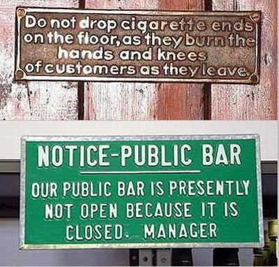 Amazing sign boards: very very funny | Just Have a Look !!