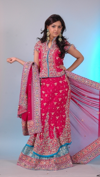 Indian & Pakistani Bridal Lehenga Designs