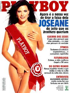 Joseane Oliveira bbb3 Playboy
