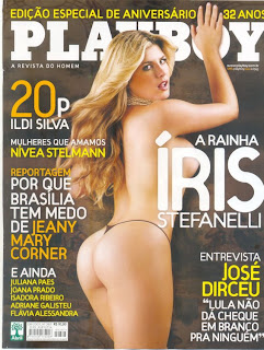 ris Stefanely pelada Playboy