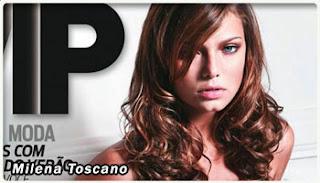 Milena Toscano pelada