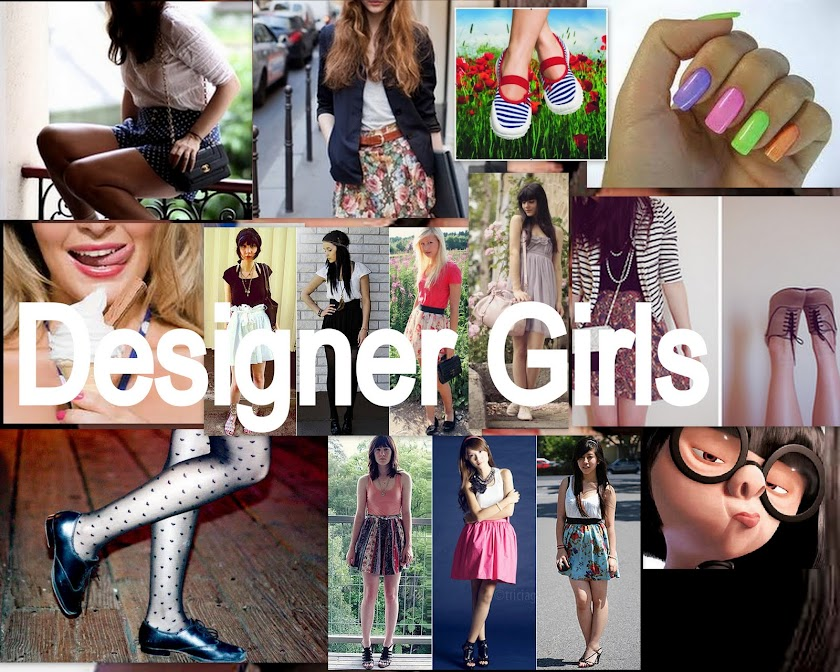 - Designer Girls | Só para Girls!