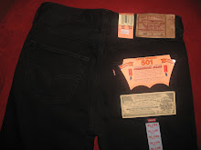 LEVIS 501 SUPERBLACK( NEW)
