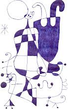 Joan Miró miraba con miraditas