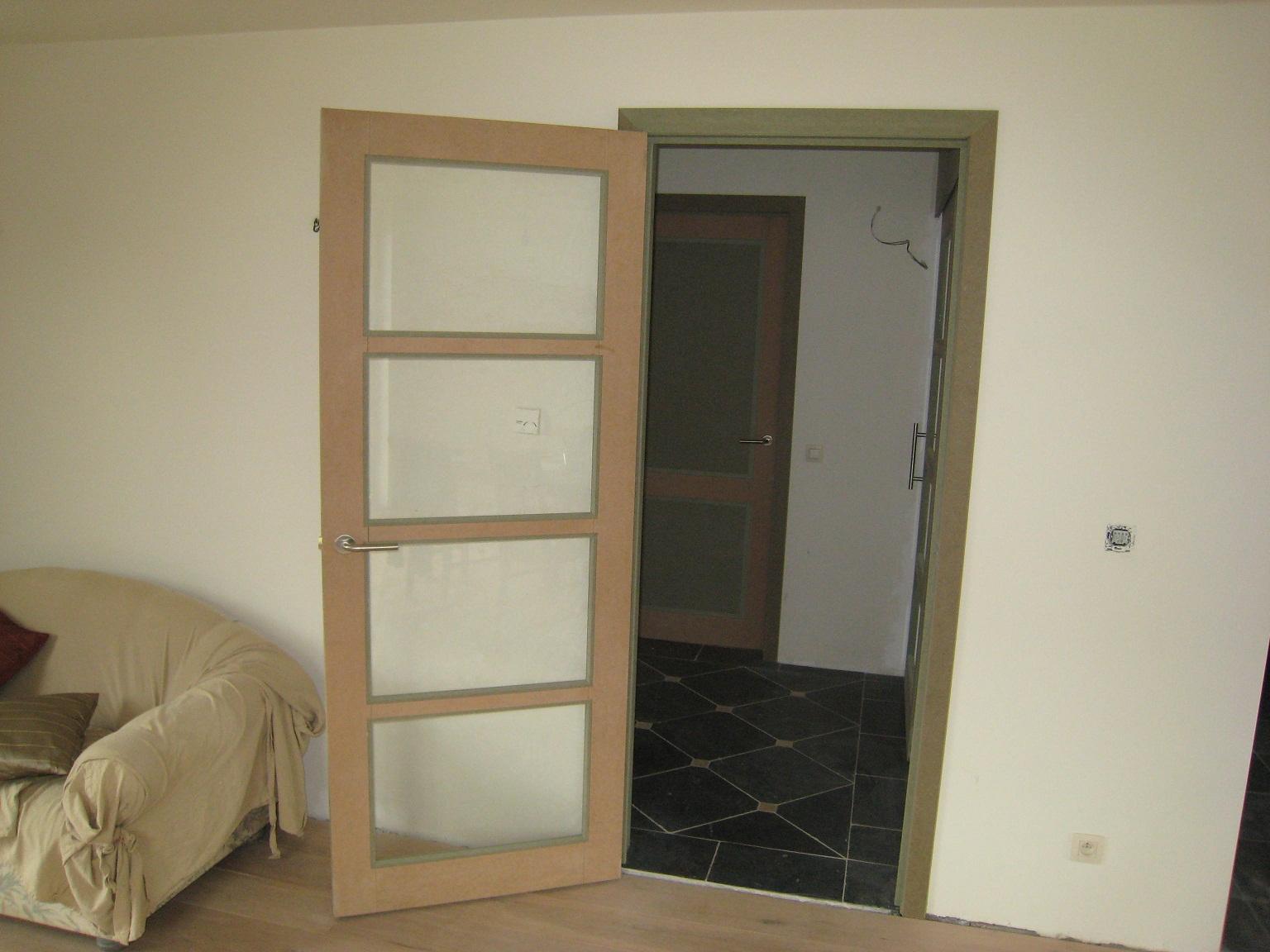 Woonkamer Deur Met Glas : Huize Stapel: Keuken en woonkamer deur met ...