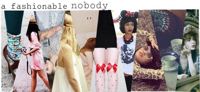 a fashionable nobody
