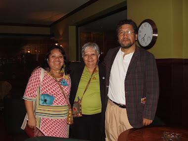 Com o Embaixador da Paz peruano Feliciano Mejia