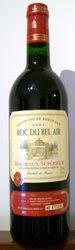 442 - Roc du Bel Air Bordeaux Supérieur 2001 (Tinto)