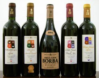 Enjoy the wines of Adega Coop. de Borba at Diamond's Edge North Restaurant, Waterville Valley Resort, on Saturday, Oct. 17
