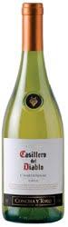1186 - Casillero del Diablo Chardonnay 2007 (Branco)