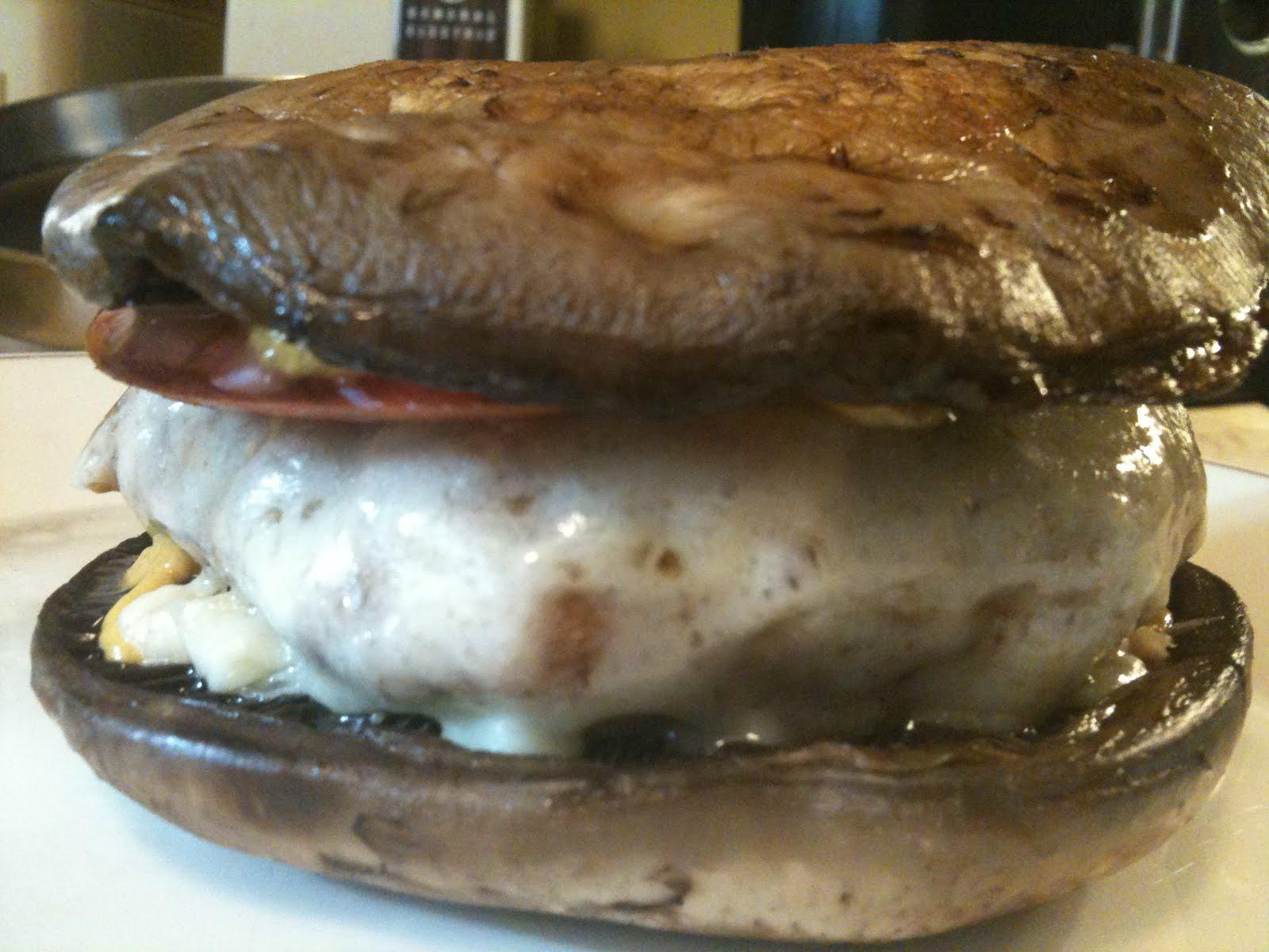 writebrain: Portabella Mushroom Burger