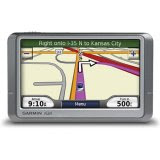 This picture shows a Garmin nuvi 260W portable GPS vehicle system